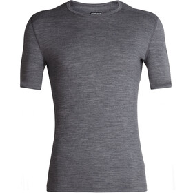Icebreaker 200 Oasis SS Crew Top Men, gritstone heather